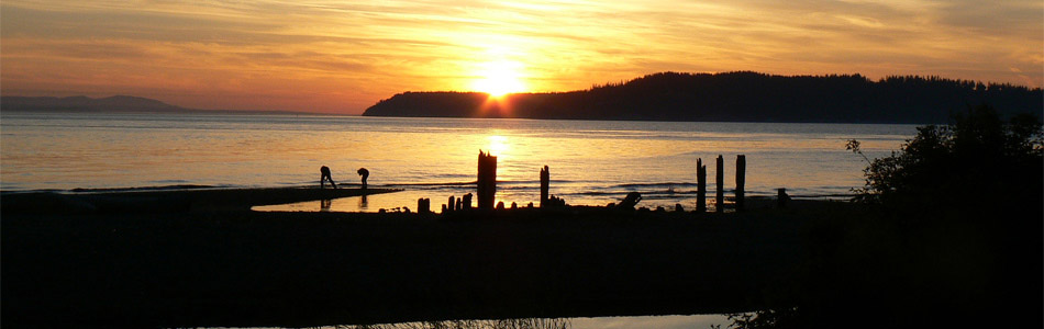Sunset on the Sound - Banner Image